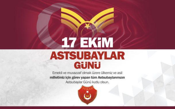KUTLAMA - 17 EKİM ASTSUBAYLAR GÜNÜ